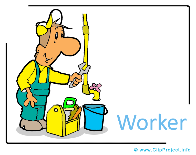 765x604 Worker Clipart Image