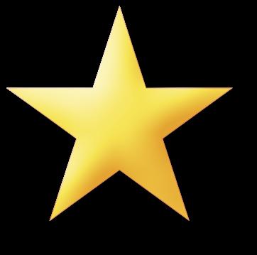 362x359 Cartoon Star Clipart