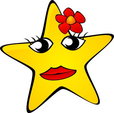 400x397 Star Clipart Cartoon