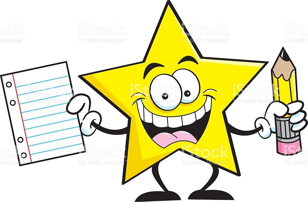 1024x672 Stars Clipart Pencil