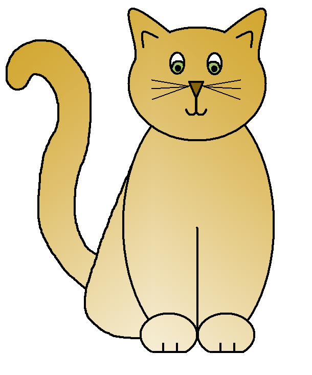 610x733 Clip Art Cat Clipartsiip