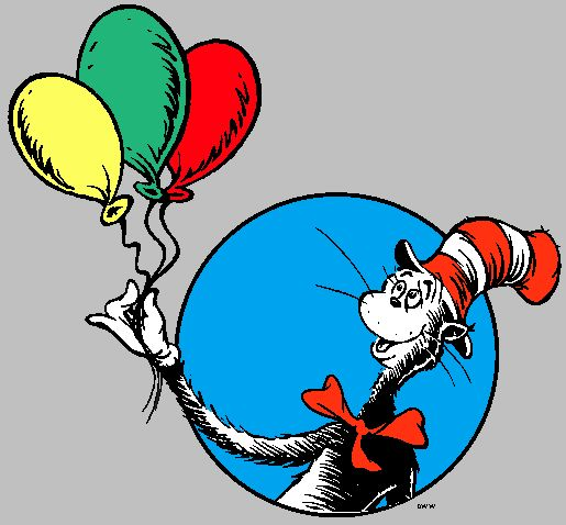 515x478 106 best Cat in the Hat Party Ideas images Books