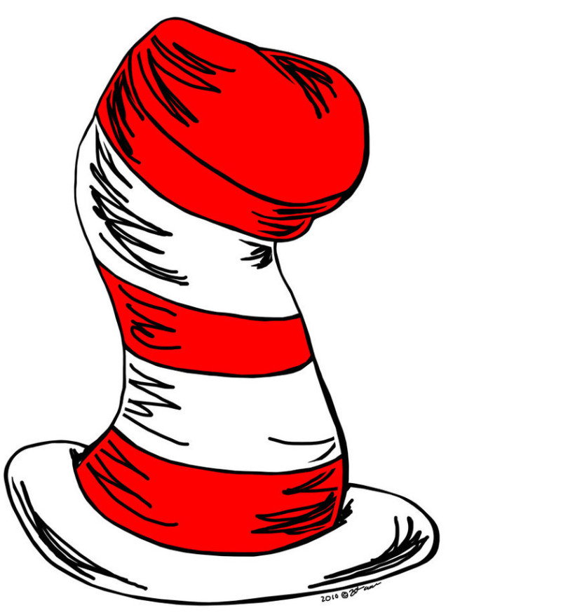 830x877 Cat in the hat clip art 4 Read Across America Clip