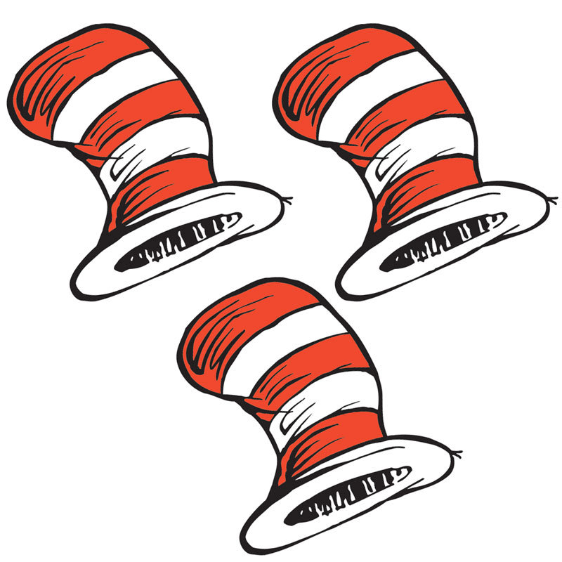 800x800 Best Cat In The Hat Clip Art