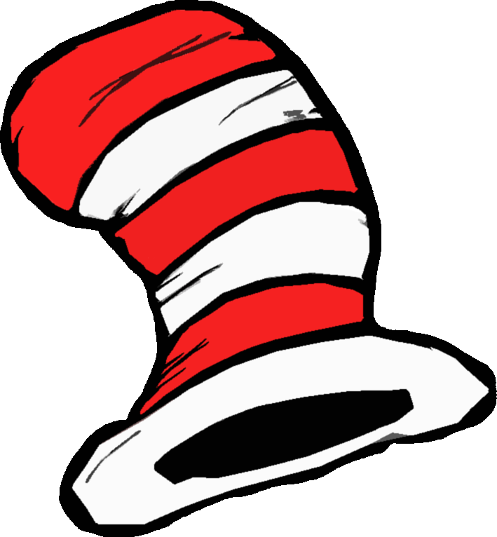 709x766 Best Cat In The Hat Clip Art