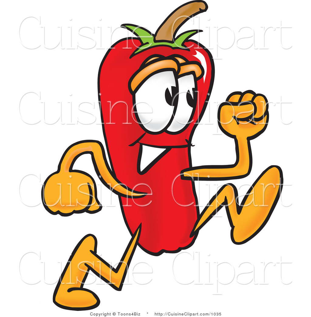 1024x1044 Cuisine Clipart Of A Cute Chili Pepper Mascot Cartoon Character