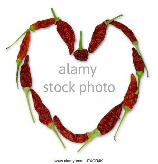 520x540 Heart Shape Dry Chili Pepper Stock Photos Amp Heart Shape Dry Chili