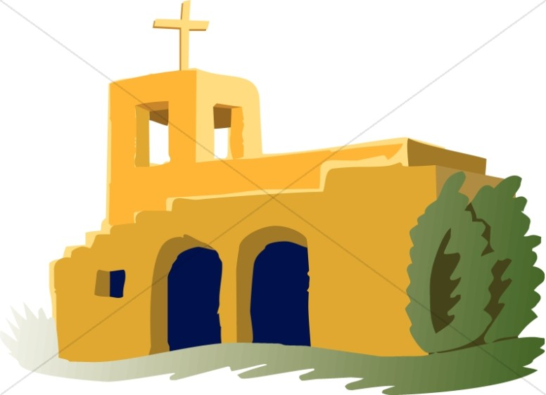 776x562 Adobe Mission Church Church Clipart