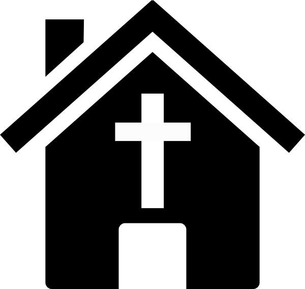 600x568 Church Clipart Black And White Many Interesting Cliparts