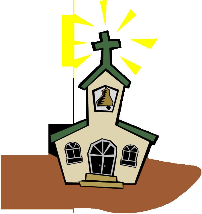 705x750 Church Clipart Church Service