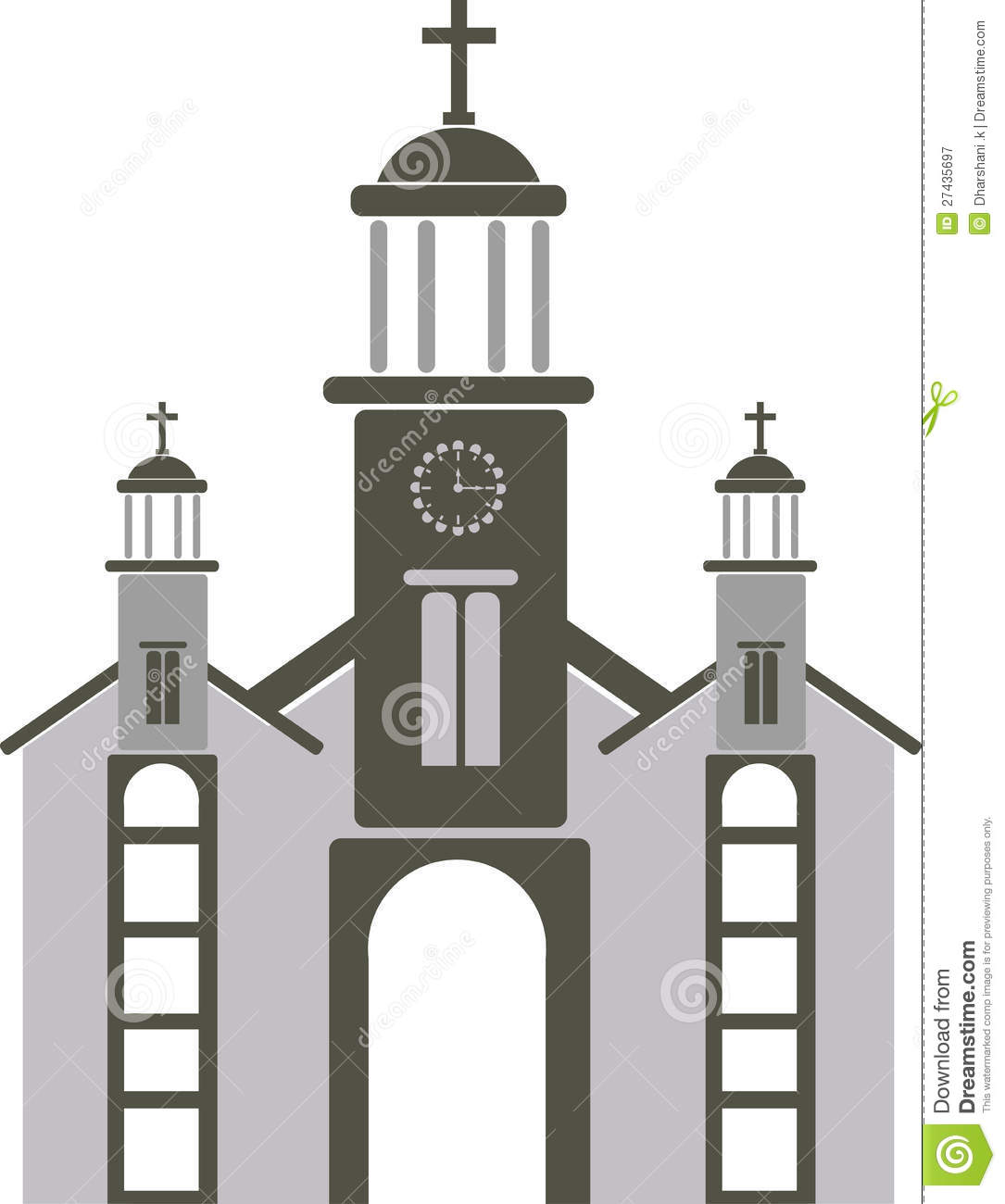 1085x1300 Church Clipart Shape