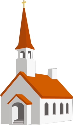 234x400 Falling Clipart Church