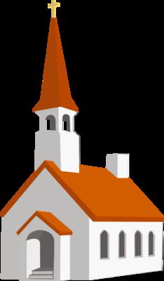 234x400 Falling Clipart Church