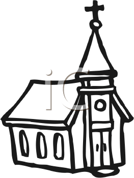 263x350 Free Church Clipart Black And White 101 Clip Art