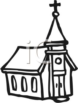 263x350 Free Church Clipart Black And White 101 Clip Art