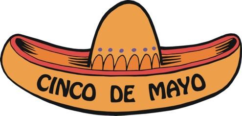 495x237 Cinco De Mayo Hats Clipart
