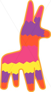 216x388 Mexican Pinata Clipart Cinco De Mayo Clipart