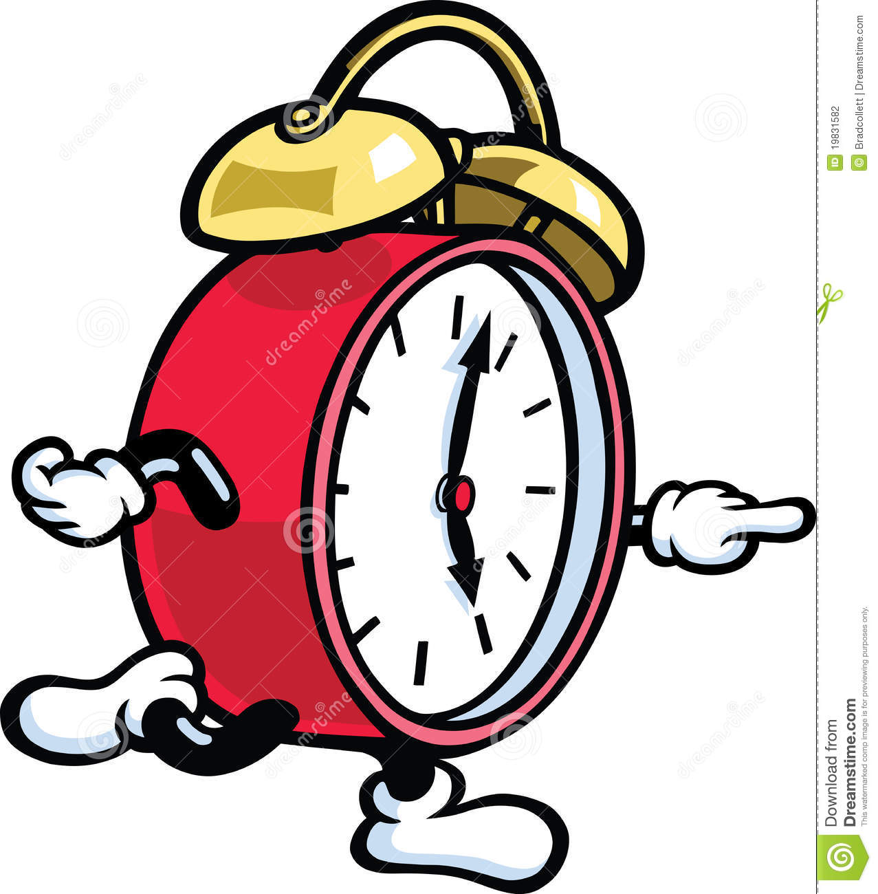 1277x1300 Running Clock Clipart