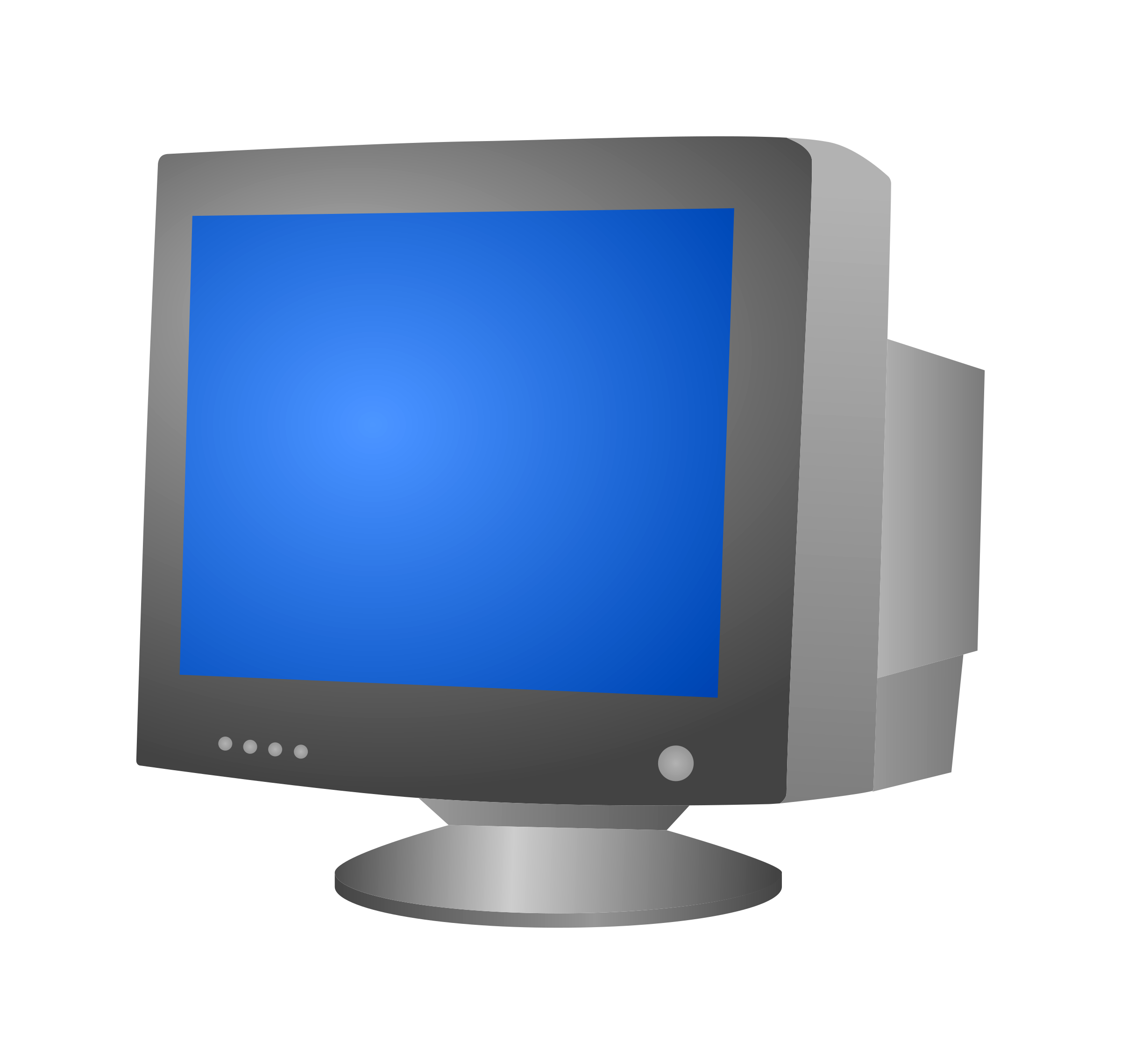 2400x2278 Free Stock Photo Of Computer Crt Monitor Vector Clipart