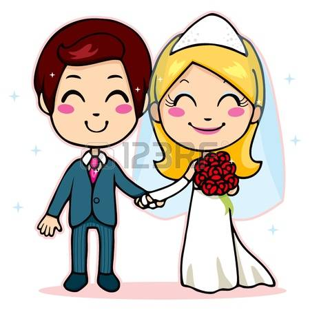 450x450 Standing Cartoon Married People Confused Clipart Free