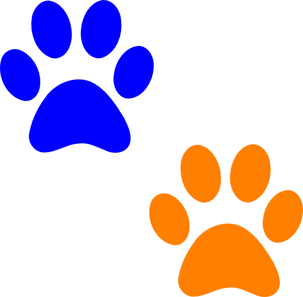 600x588 Paw Print Wildcats On Dog Paws Paw Tattoos And Clip Art Image 3