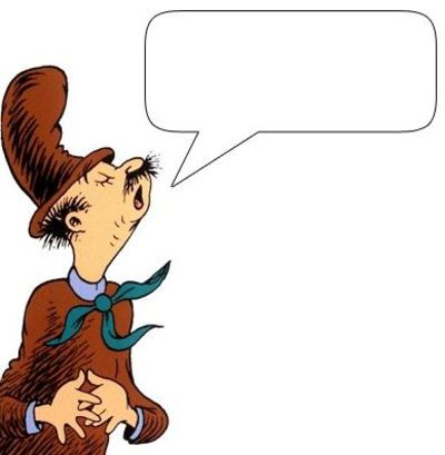 400x409 Clip Art Of Many Different Characters From Dr. Seuss That Yo