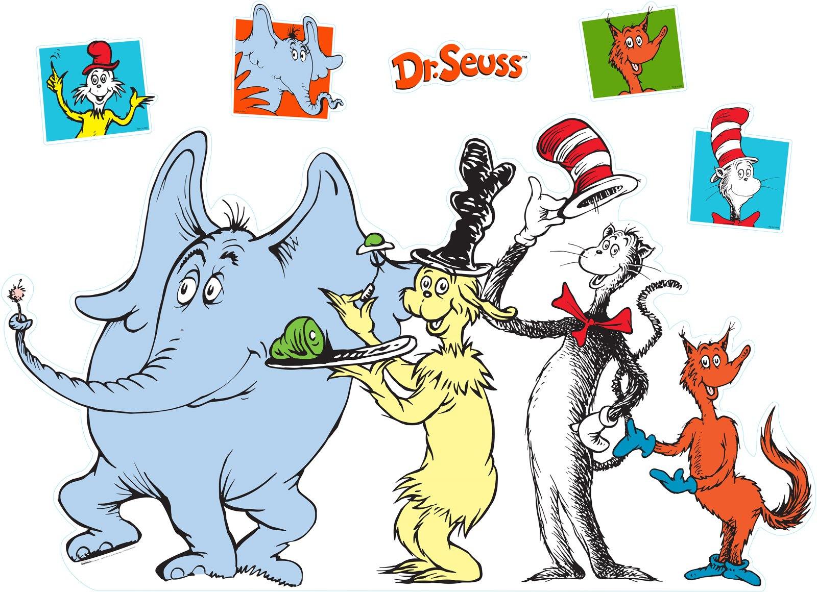 1600x1160 Dr Seuss Character Group Shot Stand