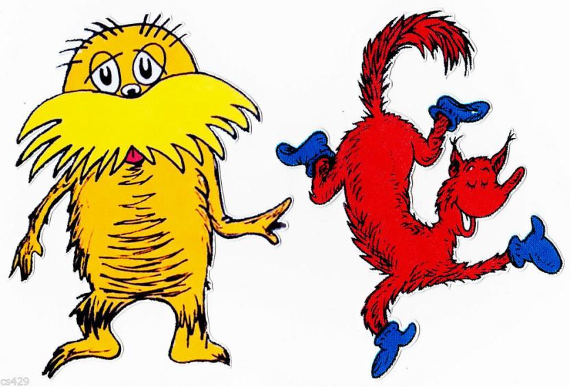 830x564 Dr Seuss Character Clipart