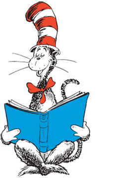 230x359 Dr Seuss Characters Read Book Clipart