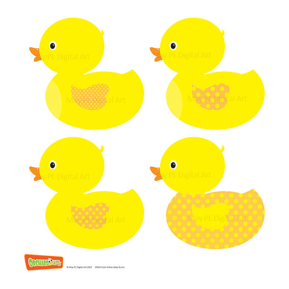 570x570 Duckling Clipart Blue Duck