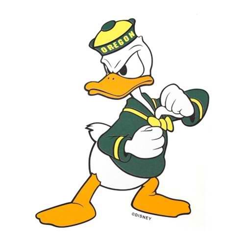500x500 Mascot History 101 Oregon And Donald Duck