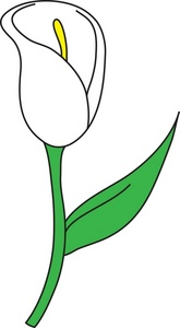 165x300 Easter Lilly Clipart