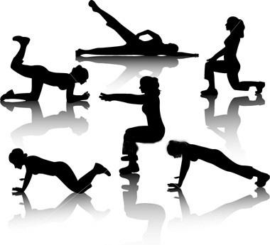 380x345 Cardio Exercise Clip Art Cliparts