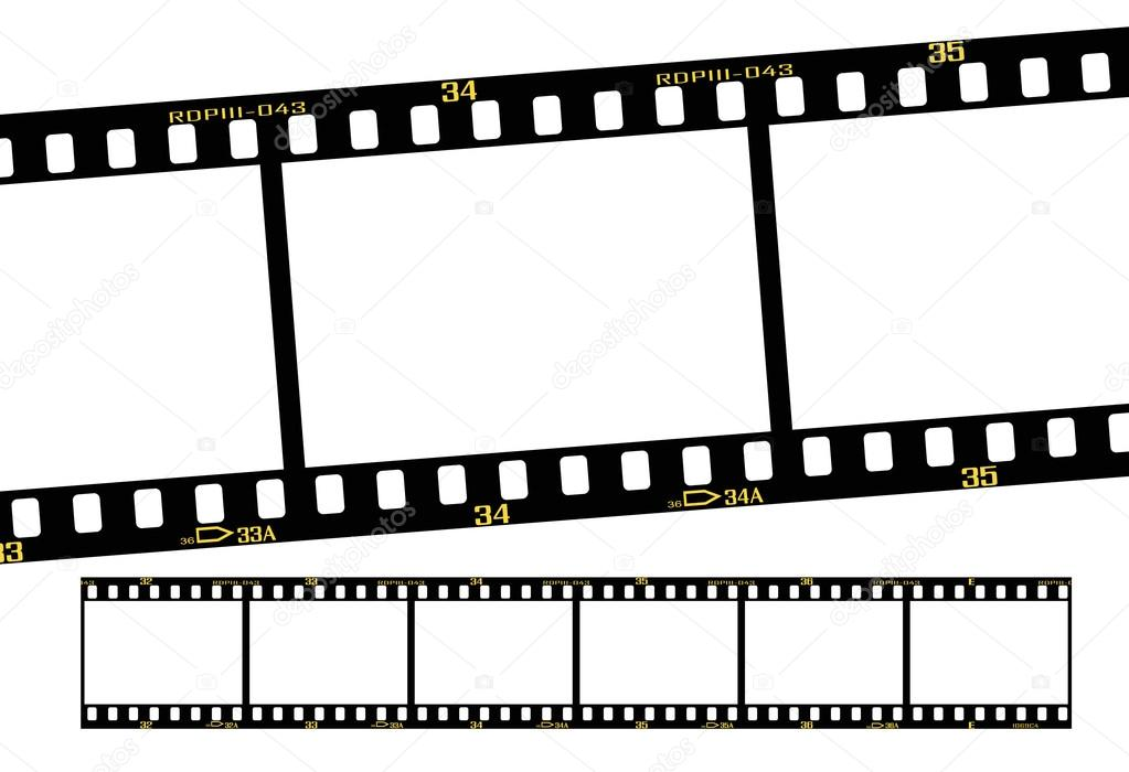 1023x700 Slide Film Strip Stock Vector Mtkang