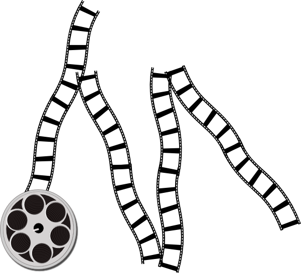 600x545 Film Strip Clip Art
