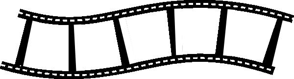 600x161 Film Strip Thin Clip Art