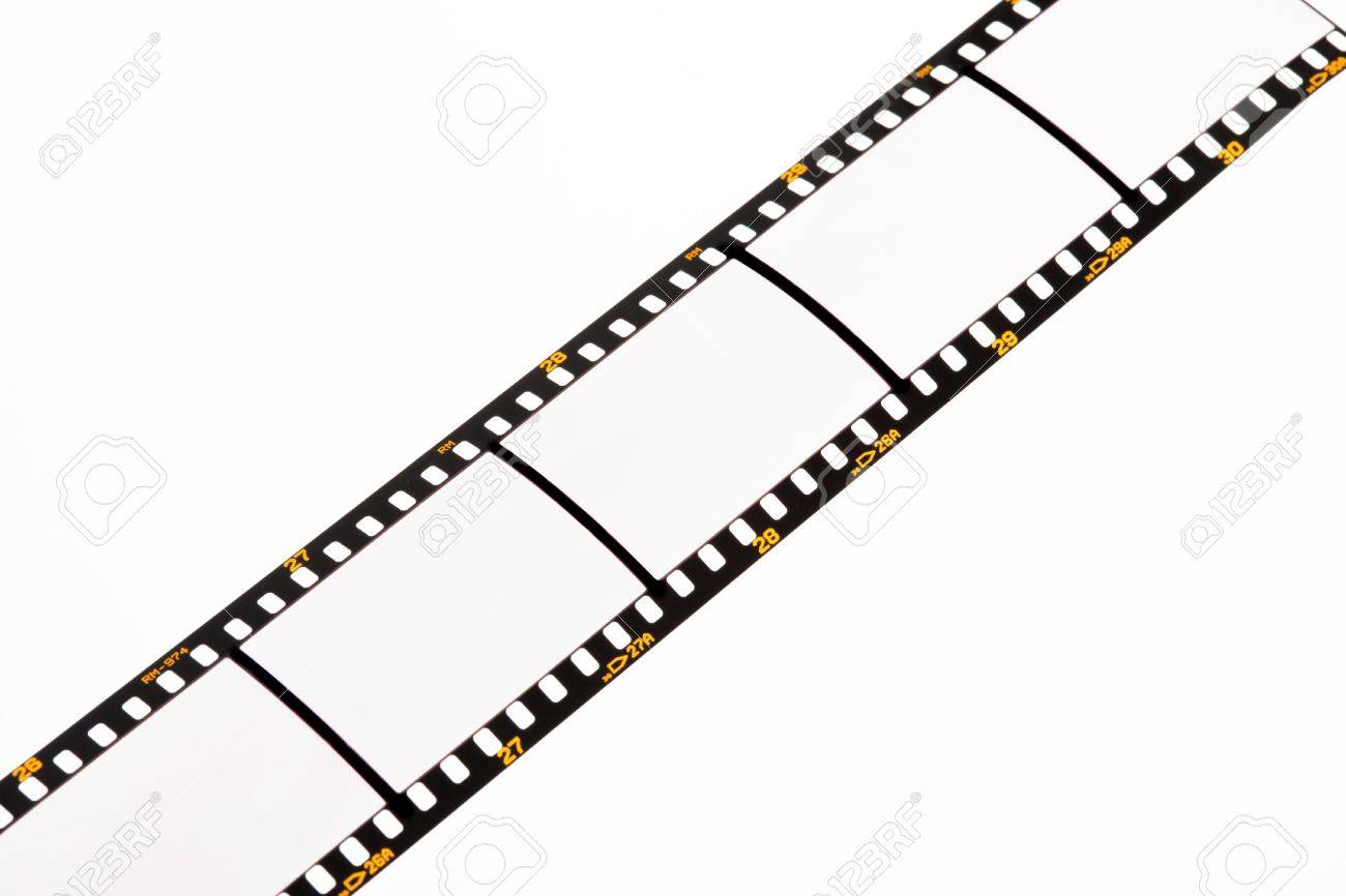 1300x866 Film Strips For Apgvis With Text Space. Blank Dia 35mm Film. Stock