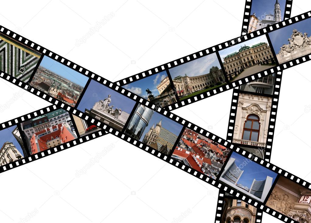 1023x733 Filmstrips Stock Photo Tupungato