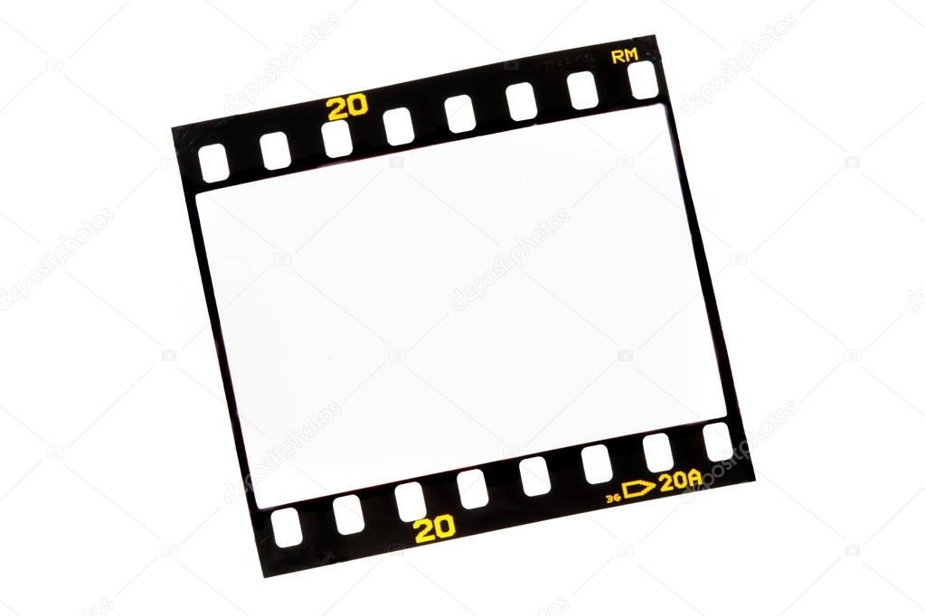 1023x682 Slide Film Strips With Empty Frames Stock Photo Ginasanders