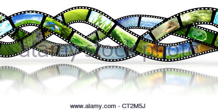 450x230 35mm Film Strips Stock Photo, Royalty Free Image 91515699