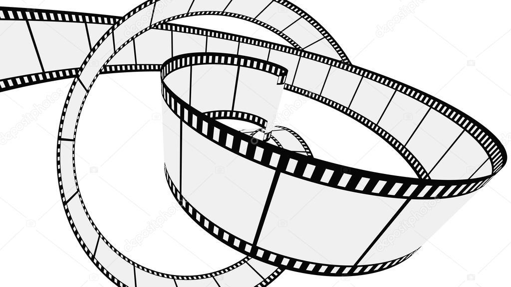 1024x576 Vector Blank Film Strip Stock Vector Ijalin