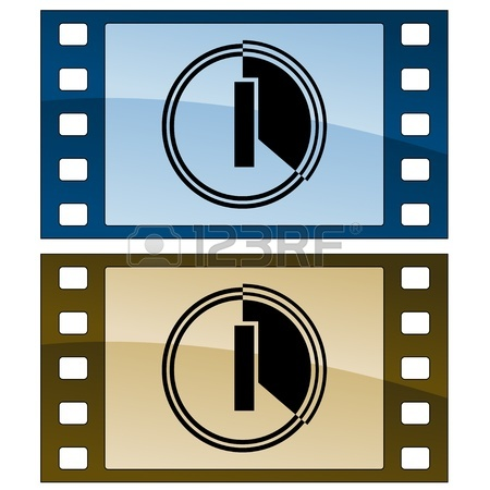 450x450 Vector Scratched Film Strips Royalty Free Cliparts, Vectors,