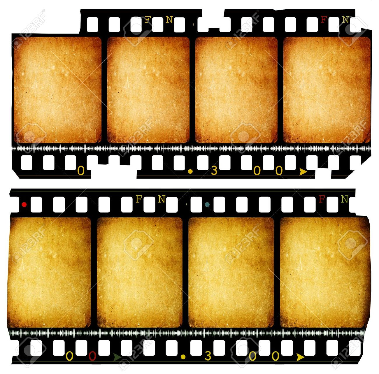 1300x1283 Close Up Of Vintage Movie Film Strips Stock Photo, Picture