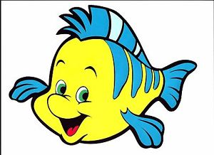 Images Of Flounder From The Little Mermaid