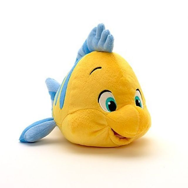 640x640 Disney The Little Mermaid Flounder Plush 10ftft Ebay