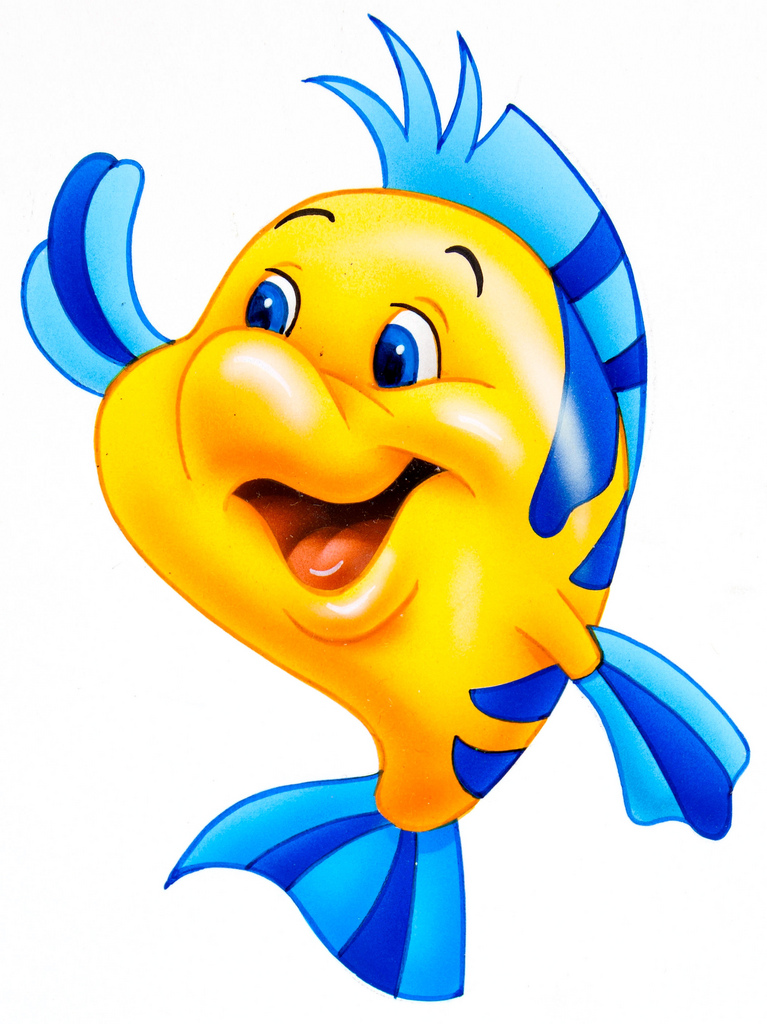Images Of Flounder From The Little Mermaid | Free download ...