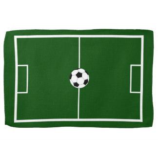 324x324 Football Field Kitchen Towels Zazzle