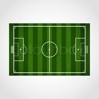 320x320 Football Background For Your Design. Players On Field, Soccer Ball