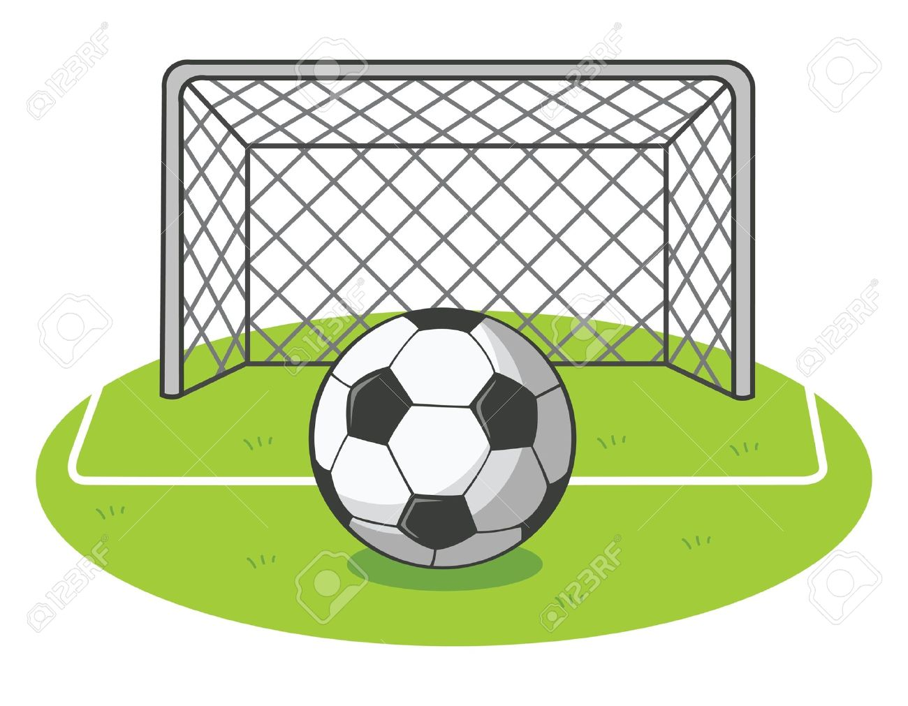 1300x1011 Ground Clipart Soccer