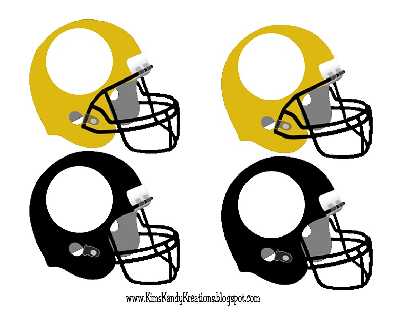 800x612 Football Helmet Cupcake Printable Everyday Parties
